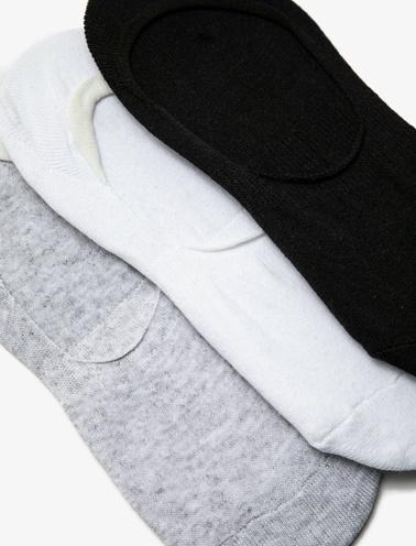 Koton 3'lü Kadin Çorap  Renkli